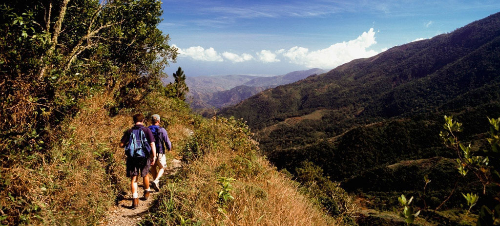 Hiking in the Blue Mountains is one of the many adventures to be had in Jamaica