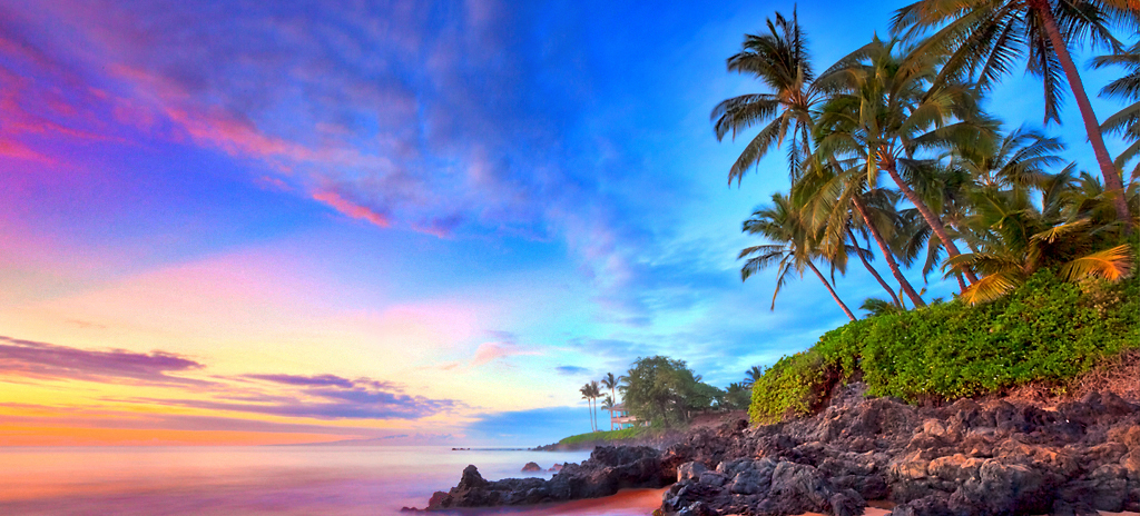 Heaven on earth: Maui's year-round perfect temperatures and endless supply of beaches make it a couples' paradise