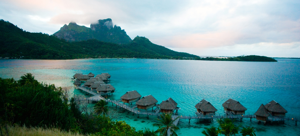 Island time: Adjust to a relaxed lifestyle in your over-the-water bungalow accommodations