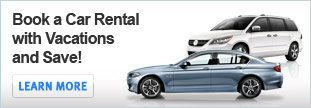Book a car rental with vacations and save&#33;