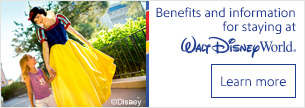 Learn more aobut the benefits and information for staying at Walt Disney World®.