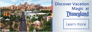 Discover Vacation Magic at Disneyland® Resort
