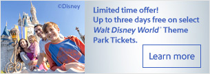 Limited time offer! Up to three days free on select