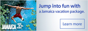Jump into fun with a Jamaica vacation package.