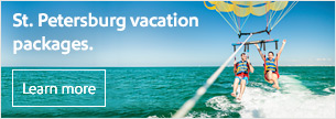 St. Petersburg vacation packages.