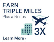 Earn 3x Miles Plus Bonus