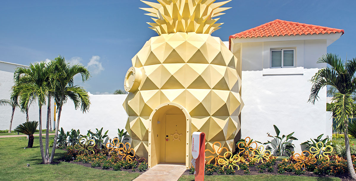 Bikini Bottom - Spongebob's Pineapple House
