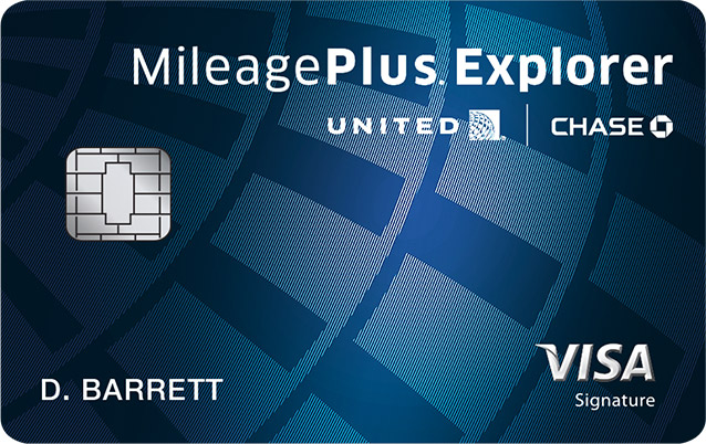MileagePlus® Explorer Card image