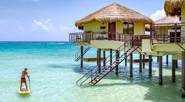 Experience Overwater Bungalows