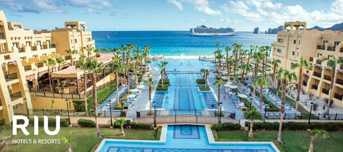 ccfa1a2c5 Here are a few of our most popular Cabo San Lucas Los Cabos resorts  Riu  Santa Fe - All Inclusive