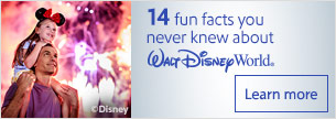 14 fun facts you never knew about Walt Disney World®