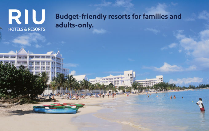 Budget-friendly resorts for families and adults-only.