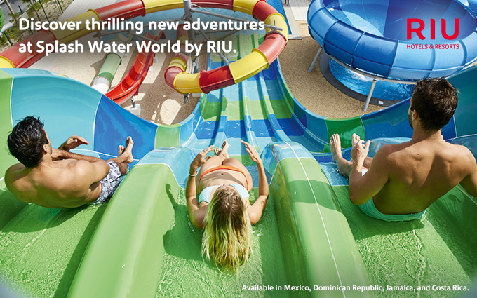 Riu Republica: Splash Water World opening November 2017.