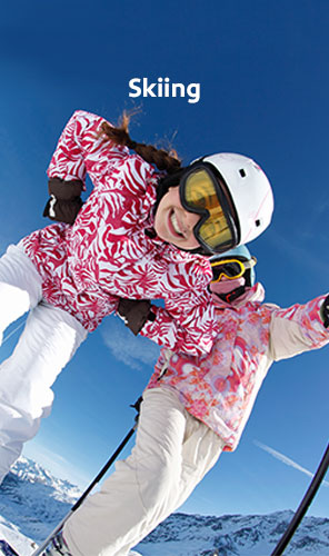 Skiing vacation packages
