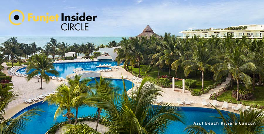 Azul Beach Resorts Funjet Inside Circle Perks