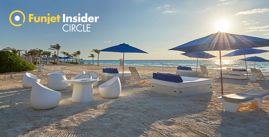 Live Aqua Beach Resort Cancun Funjet Inside Circle Perks