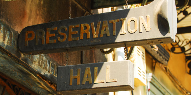 Preservation Hall New Orleans