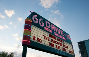 Drive in Route 66