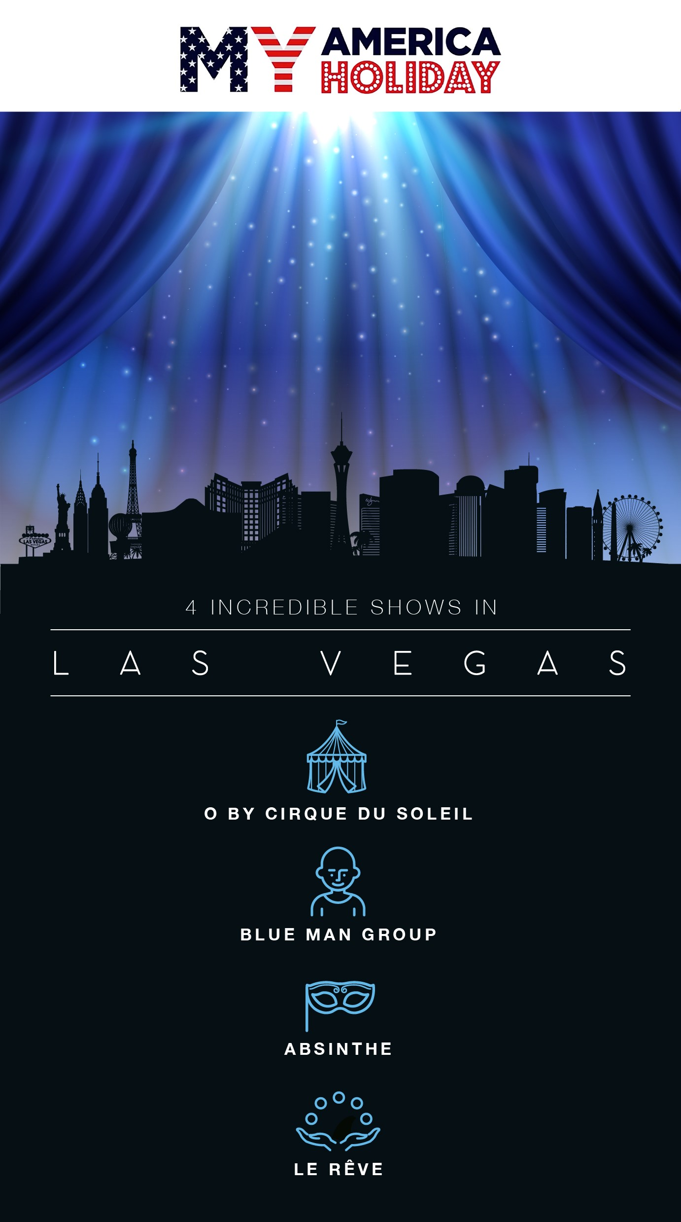 4 Incredible Las Vegas Shows