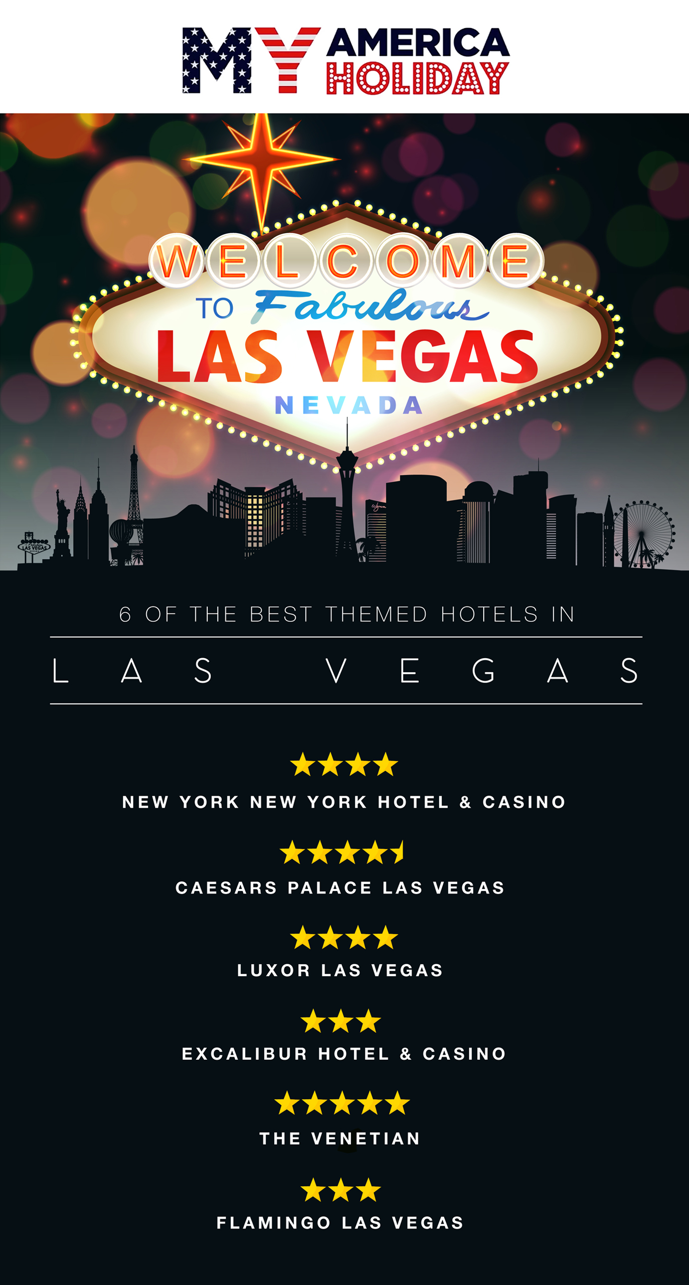 6 of the best themed Vegas hotels