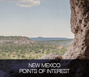 New Mexico points of interest