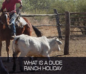 What is a Dude Ranch Holiday