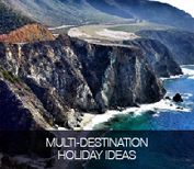 Multi-destination holiday ideas