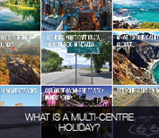 what is a multi-centre holiday?