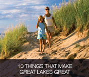 10 things that make great lakes great