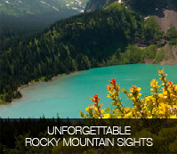unforgettable rocky mountain sights