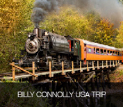 billy connolly usa trip