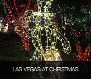 Las Vegas at Christmas