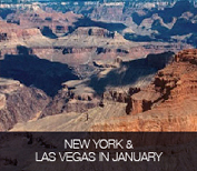 New York & Las Vegas in January