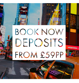 Deposits from £59pp