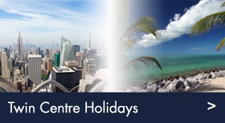 Twin centre holidays