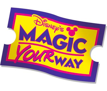 MAGIC YOUR WAY Ticket with PARK HOPPER® Option
