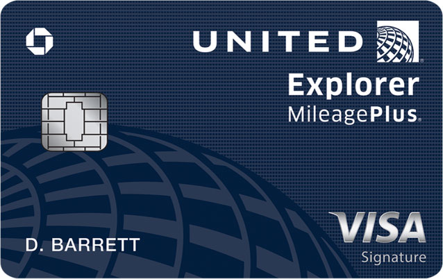 United Explorer Card image