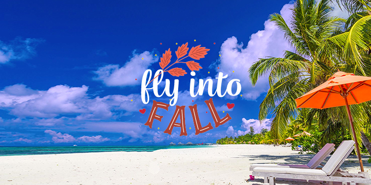 Fly Into Fall banner